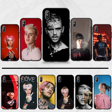 Hip Hop Rapper Lil Peep Coque Shell Telefoon Case Voor Iphone 5 5s 5c Se 6 6s 7 8 Plus X Xs Xr 11 Pro Max(China)
