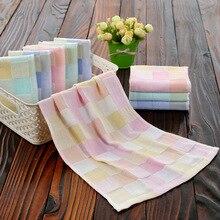 Cotton towel double gauze children's towel kindergarten children's face towel gift towel hand towel for kids household items