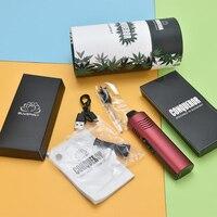 WOLF COOLVAPE-kit de vaporizador para Hierbas secas, vaporizador para Hierbas secas con temperatura ajustable, cigarrillo electrónico