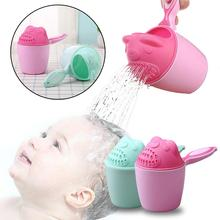 Baby Bath Waterfall Rinser Kids Shampoo Rinse Cup Bath Shower Washing Head Cute