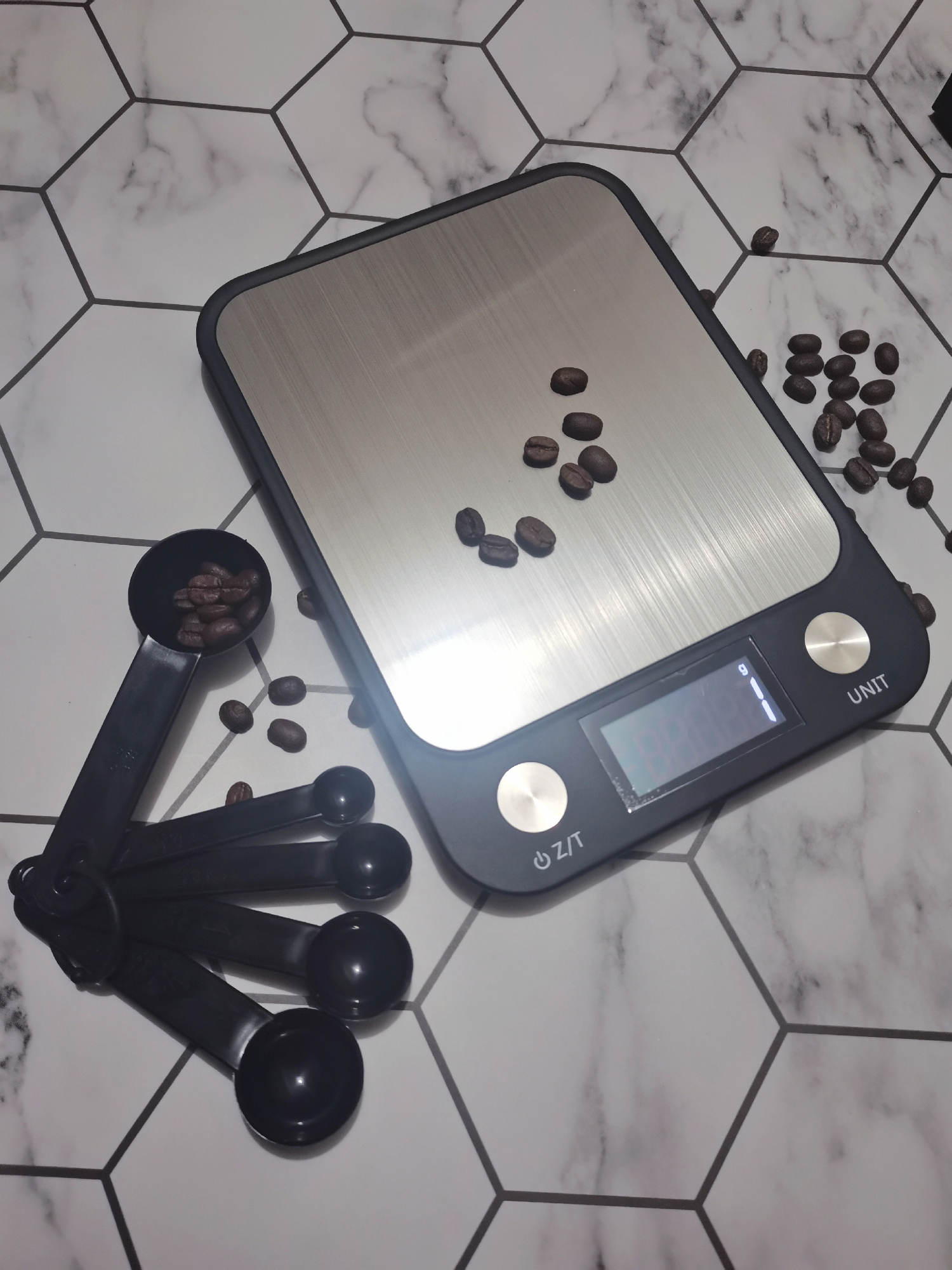 10kg/1g Kitchen Scale Tool Baking Scale Multifunctional Kitchen Scale Stainless Steel LCD Display Weighing  Kitchen Accessories