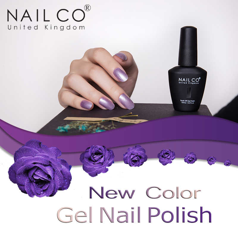 Nailco Nuovo 15 Ml Del Gel Del Chiodo Polish Set Manicure Gel Smalto Gel per Unghie Artistiche Fai da Te Bottiglia di Gelpolish Uv Del Chiodo Del Led smalto Del Gel Soak Off