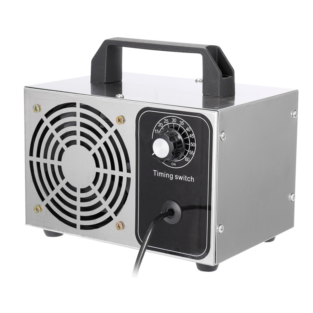 EU 220V 10g/h 100W For Home Hospital Ozone Generator Sterilizer Air Cleaner Purifier Ozonator Sterilizer With Timing Switch