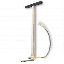 300bar 30mpa 4500psi 3 этап PCP мини ручной воздушный насос для автомобиля/мотоцикла/велосипедный насос, мини компрессор высокого давления