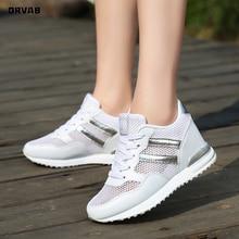 Women Sneakers Tenis Feminino Fashion Height Increasing 8cm Platform Sneakers We