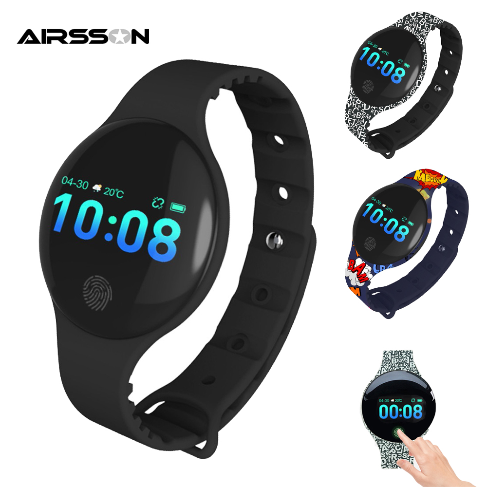 08Plus Bluetooth Smart Uhr Frauen Kind Armband Wasserdicht Armband Band <font><b>Fitness</b></font> Tracker SMS Pedometer Sport Smartwatch image