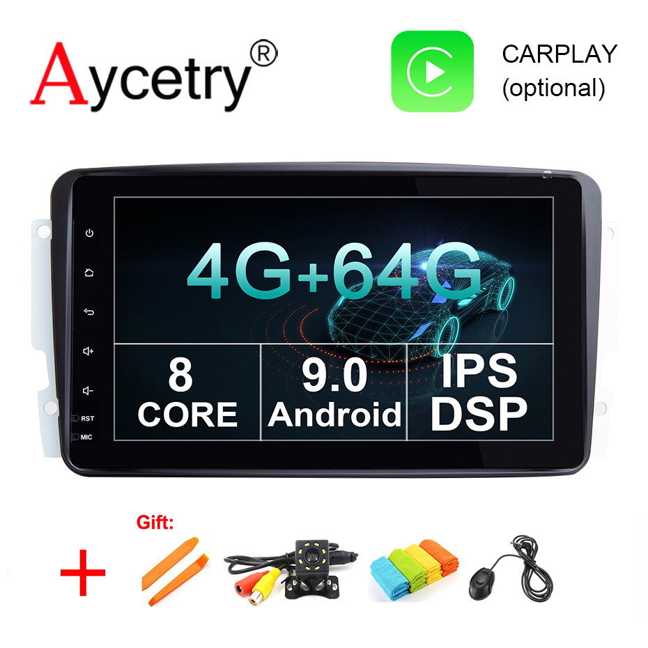 IPS DSP 8 core 4G 64G 2 din Android 9 car multimedia dvd GPS Radio For