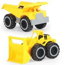 1 pièces Simulation inertie ingénierie voiture jouet enfants plage jouant sable jouet classique pelle tracteur jouet voiture modèle enfants cadeaux