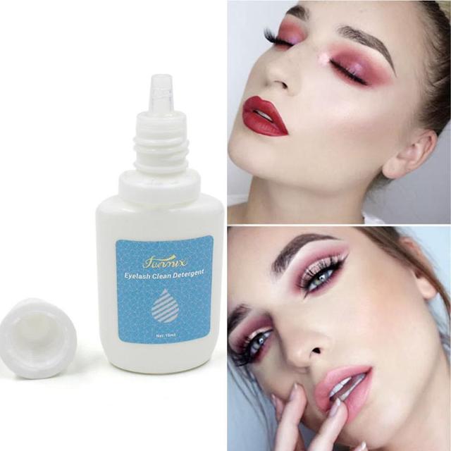 10ML/Bottle Eyelash Cleaner Primer False Eyelash Extension Clean Liquid Eye Lashes Before Planting Eyelash Grafting Cleanser 5