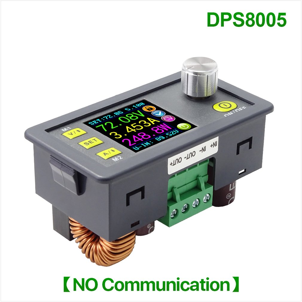 DPS8005 Programmable Constant Voltage Current Step-down Power Supply Module Voltmeter Ammeter Buck Converter 80V 5A