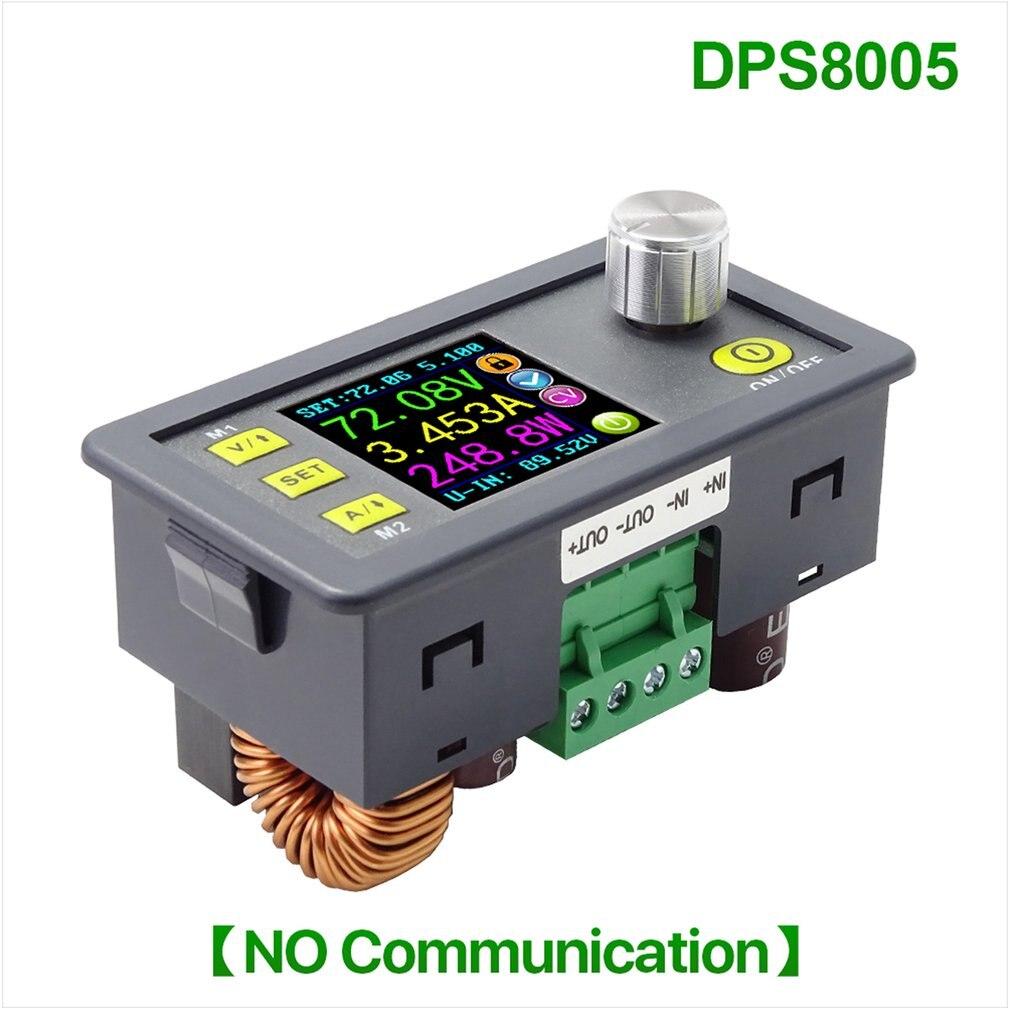 Aletler'ten Enerji Sayaçları'de DPS8005 programlanabilir sabit gerilim akım adım aşağı güç kaynağı modülü voltmetre ampermetre Buck dönüştürücü 80V 5A title=