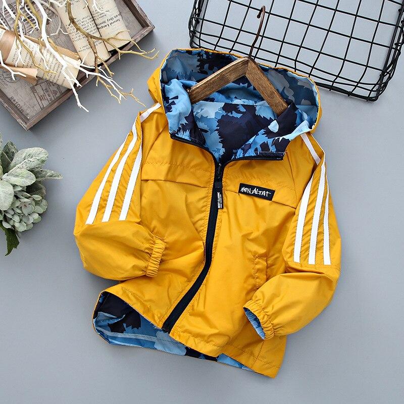 Детская верхняя одежда на весну и осень, Двусторонняя Куртка для мальчиков, Повседневная камуфляжная ветрозащитная куртка для мальчиков, детская одежда, куртка для мальчиков, детская одежда|Куртки и пальто| | АлиЭкспресс