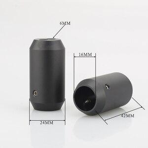 Image 1 - 4 Pcs Hifi Audio Broek Boot Y Splitter 1 Naar 2 Speaker Rca Kabel Audio Diy Draad Connector Zwart Speaker kabel Draad Broek Laarzen
