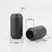 4 pçs calças de áudio de alta fidelidade boot y divisor 1 a 2 alto falante rca cabo de áudio diy fio conector preto alto falante fio calças botas
