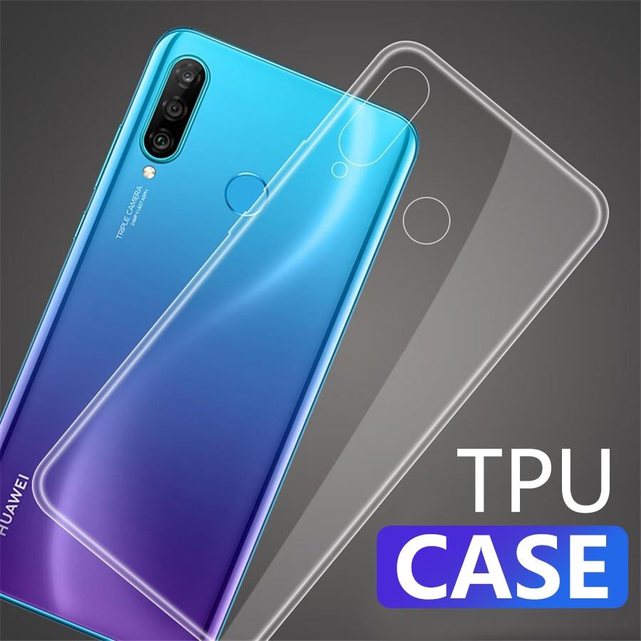 Caso de telefone tpu para huawei honor 8 honra 9 lite 6a 6x 7c 7x 8a 8x 8c 9a 9x max silicone transparente macio capa traseira