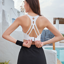 NORMOV Workout Tank Top For Women Casual Hollow Out O Neck P