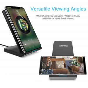 Image 3 - DCAE 15W Type C Qi Wireless Charger For Samsung Galaxy S20 S10 S9 Note 10 9 iPhone 11 Pro XS Max X 8 XR USB Fast Charging Stand