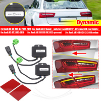 1Pair Dynamic Turn Signal LED Taillight Rear Indicator Light Module Cable Wire Fits For Audi A6 S6 RS6 C7 Avant A5 8T A3 S3 RS3