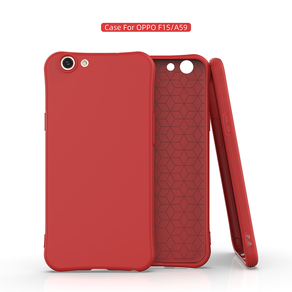 Candy Color Soft tpu Silicone Phone Case For <font><b>OPPO</b></font> F11 A9 A9X A59 F1S A39 <font><b>A57</b></font> F5 A75S A73 R17 K1 R15 R15X AX7 Neo Pro <font><b>Back</b></font> <font><b>Cover</b></font> image