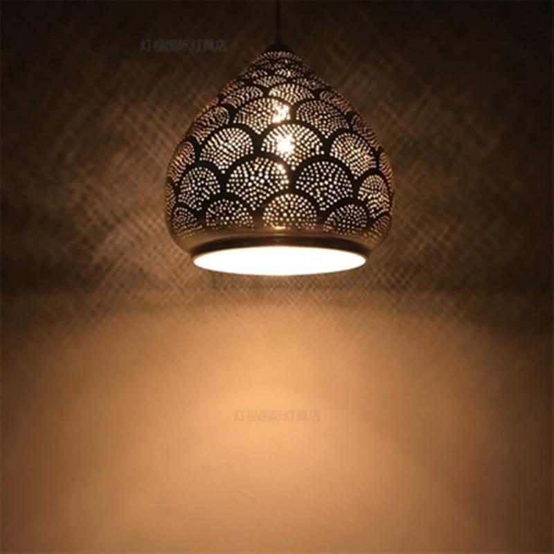 Newest Stytle Turkey Ethnic Customs Handmade Mosaic Lamp Romantic Cafe Restaurant Bar Tree Pendant Light Bar Pendant Lamp