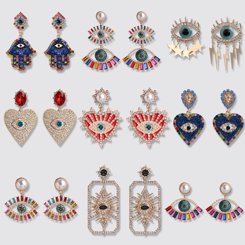 Best Evil Eye Earrings For Women 2