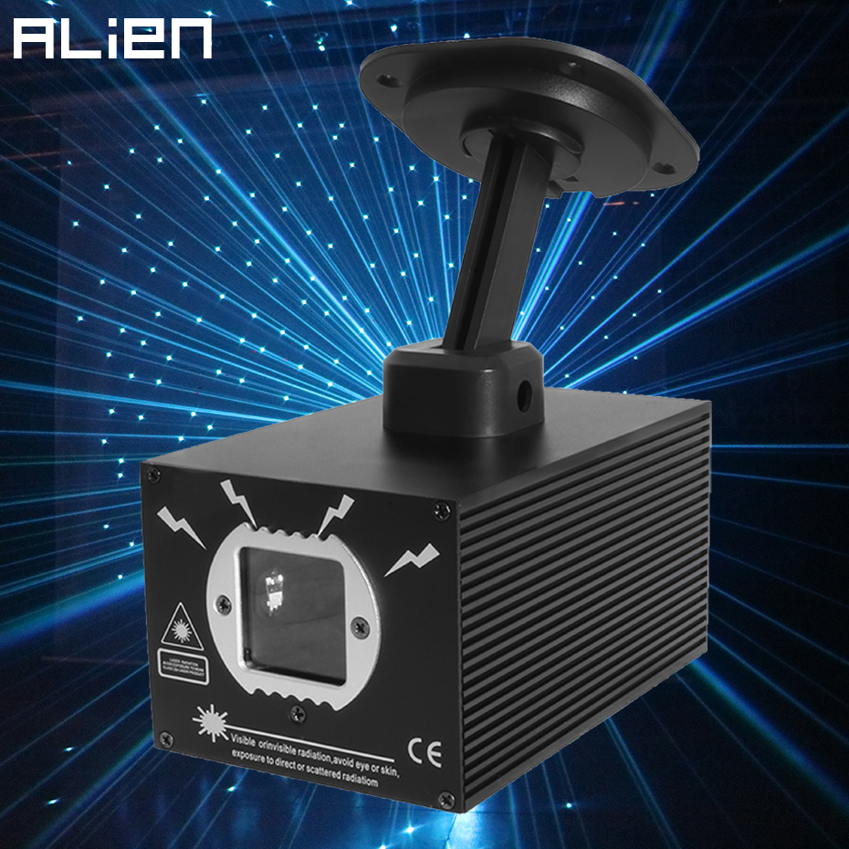 ALIEN 500mW RGB DMX Star Dots Laser Projector PRO DJ Disco Stage Lighting Effect Party Wedding Holiday Club Bar Scanner Lighting