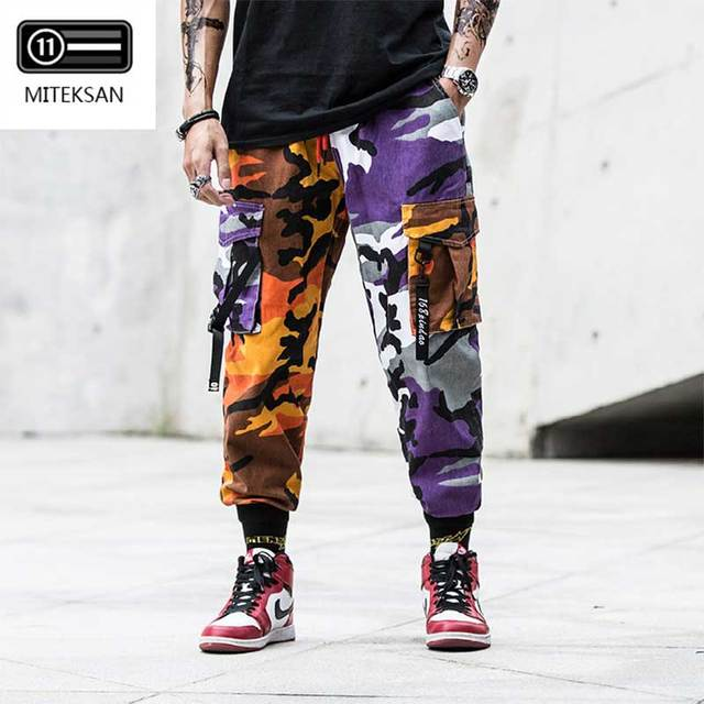 New Joggers Cargo Pants Men Streetwear Camouflage Fashions Hip Hip Korean Trousers Casual Plus Size Cp Pants Pantalones Hombre 33