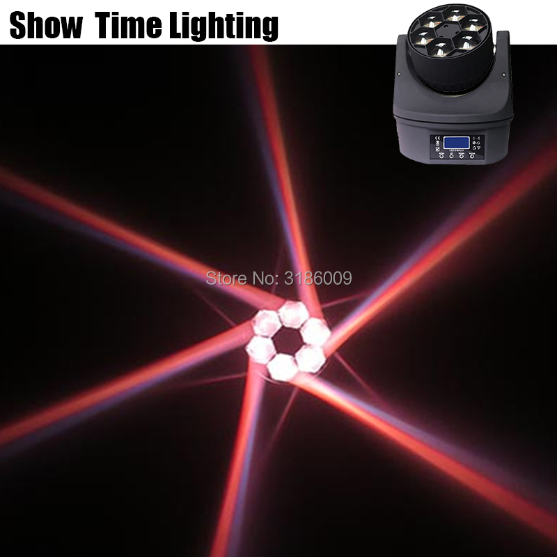 Good Effect Disco Led Bee Eye Moving Head Dj Light Use For Party KTV Bar 6 Bee Led Spot Lite KTV Show Home Entertainment Dance
