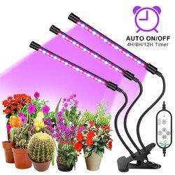 Фитолампа Goodland, Светодиодная лампа полного спектра для выращивания растений