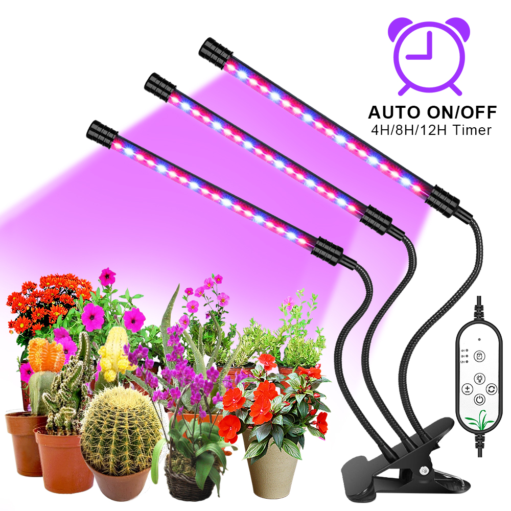 Goodland LED Grow Light USB Phyto Lamp Full Spectrum Fitolampy With Control For Plants Seedlings Flower Indoor Fitolamp Grow Box