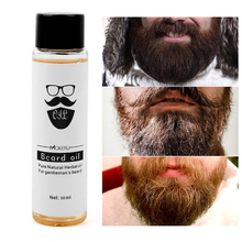 30ml Organic Beard Oil Men Beard Growth Oil Soften Hair Growth Nourishing Enhanc