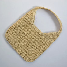New Spring Summer Bag Straw Crochet Bag Japanese Korean Style Shoulder Bag Beach Fashion Totes Casual Ladies Straw Bag(China)