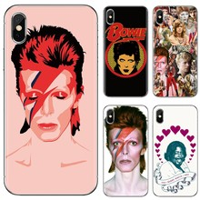กรณีTPUนุ่มสำหรับSamsung Galaxy J1 J2 J3 J4 J5 J6 J7 J8 Plus 2018 Prime 2015 2016 2017 EU David Bowie(China)