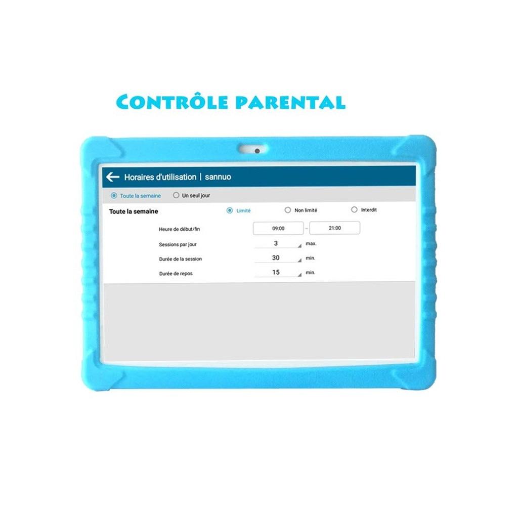 Tablette pour enfants Android 6.0 16GB IPS 10.1 pouces Bluetooth WIFI Bundle Case achat de haute qualité - 5