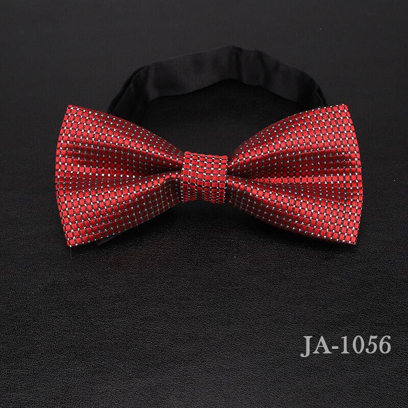 Дизайнерский галстук-бабочка, высокое качество, мода, мужская рубашка, аксессуары, темно-синий, в горошек, галстук-бабочка для свадьбы, для мужчин,, вечерние, деловые, официальные - Цвет: 1056
