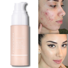 Foundation  Colour Changing Warm Skin Tone Makeup Base Nude Face Moisturizing Liquid Cover Concealer for Women White