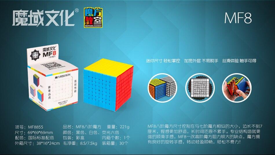 Meilong Moyu Cubo Mágico 4x4 5x5 6x6