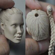 Collelctible 1:6 весы женский манекен головы лепить модель анжедины