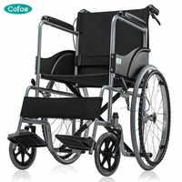 Cofoe Yidong dla osób poruszających się na wózkach inwalidzkich przenośny wózek składany wózek inwalidzki osób starszych podróży wózek inwalidzki dla osób w podeszłym wieku i osób niepełnosprawnych i rodziców