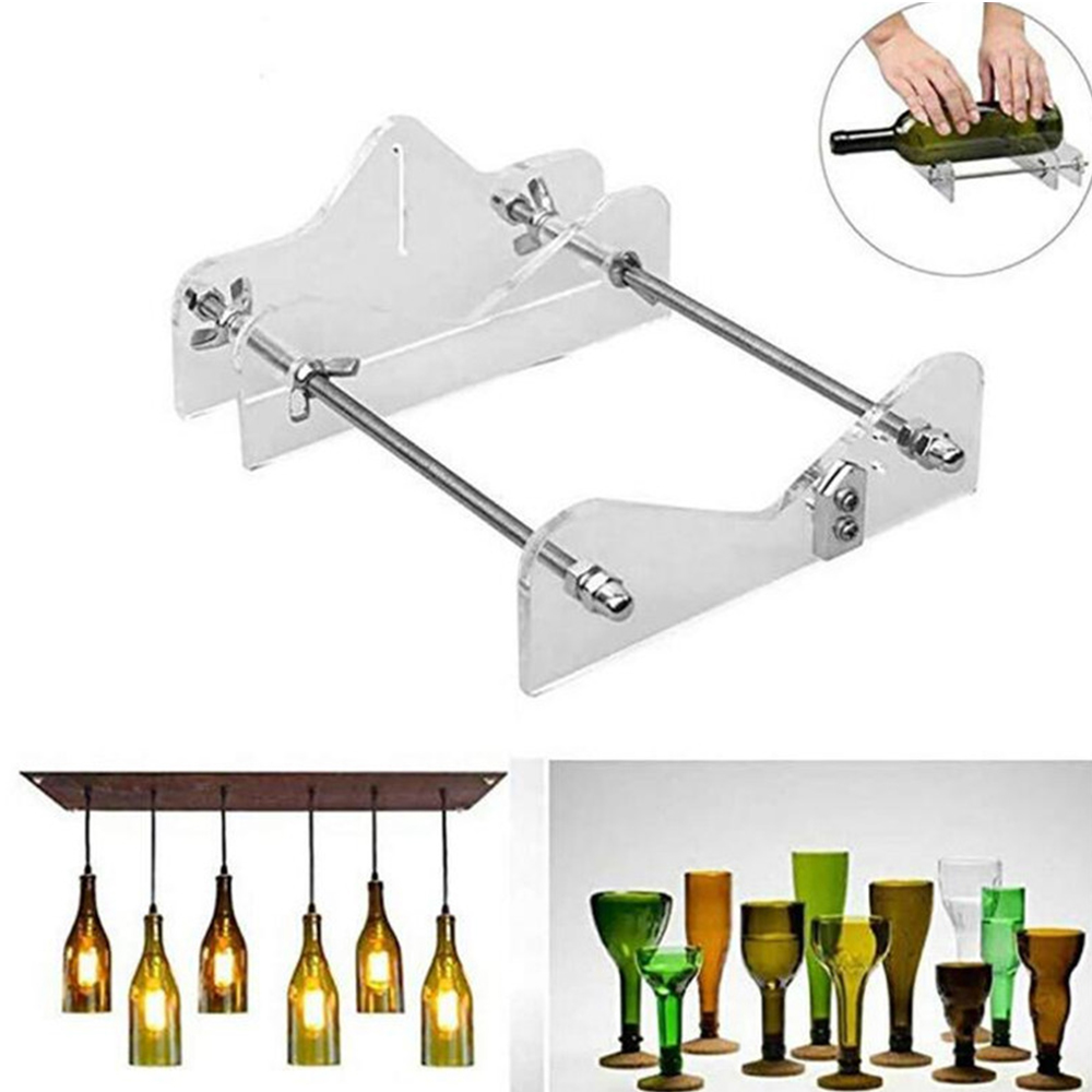 Glass Cutter Tool Professional For Bottles Cutting Glass Bottle-Cutter DIY Cut Tools Machine Wine Beer with Screwdriver
