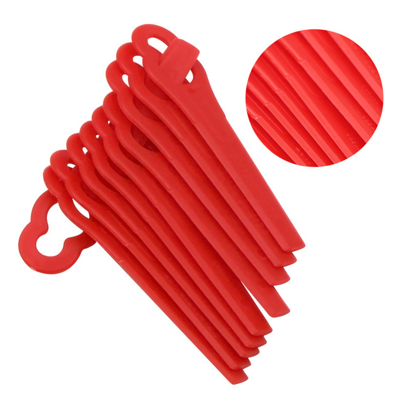 25pcs Mower Replacement Grass Cutter Plastic Trimmer Garden Lawn Accessories --M25
