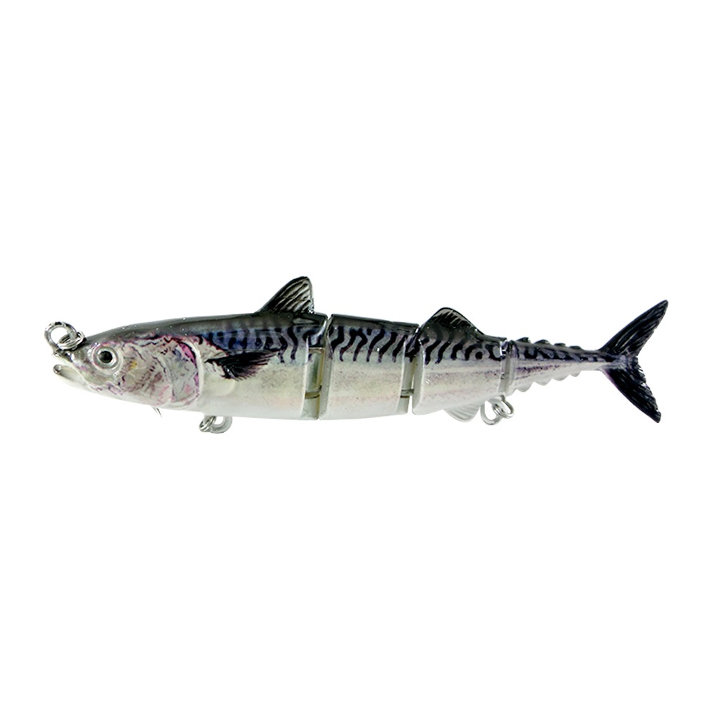 ODS 4 секции, плавающая приманка для тунца, 15 см, 31 г, бесплатный образец, рыболовные приманки, жесткие шарнирные приманки для ловли окуня в соленой и пресной воде