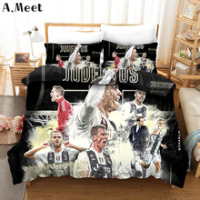 Duvet Cover Sets 3D Championship Football Bedding Love Bed Single NO Sheets Queen King Size Printed Euro Boys