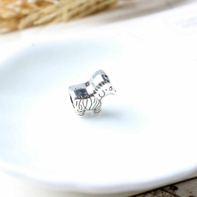 Charm สร้อยข้อมือลูกปัดสำหรับเครื่องประดับทำ bulldog ฝรั่งเศส para hacer joyas de plata 925 วันวาเลนไทน์ charms ลูกปัด 1300