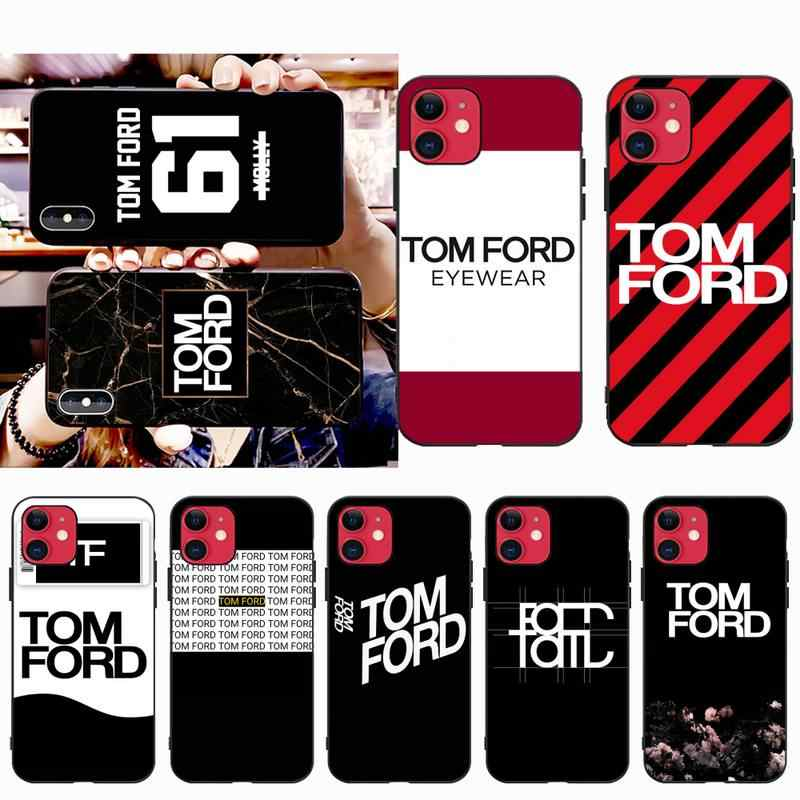 Cutewanan Fashion Design Brand Tom Ford Diy Luxury Phone Case For Iphone 11 Pro Xs Max 8 7 6 6s Plus X 5s Se Xr Case Aliexpress