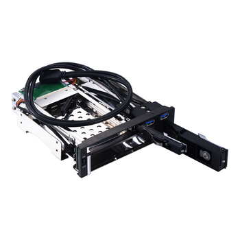 GloryStar 2.5+3.5 Sata Hard Drive Caddy Tray Multi-function 2.5 Hard Disk Case 3.5 Sata Bracket Hdd Mobile Rack