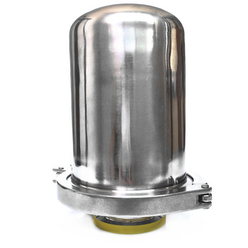 "SS304 Stainless Steel Sanitary 2.5"" Tri Clamp Breathing Valve Asepsis Breathing Valve Air Filter Ferrule OD 50.5mm/64mm"