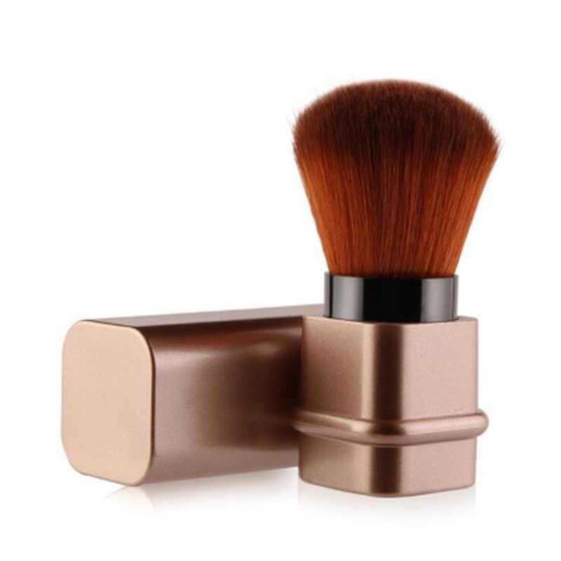 נשלף אחת איפור מברשת איפור יוקרתית באיכות גבוהה מברשת איפור כלים הקאבוקי אבקה רופפת סומק מברשת