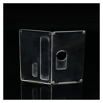 BB box mod Billet box V4 Box mod clear panels Frosted replacement doors vs vapesnail vape accessory