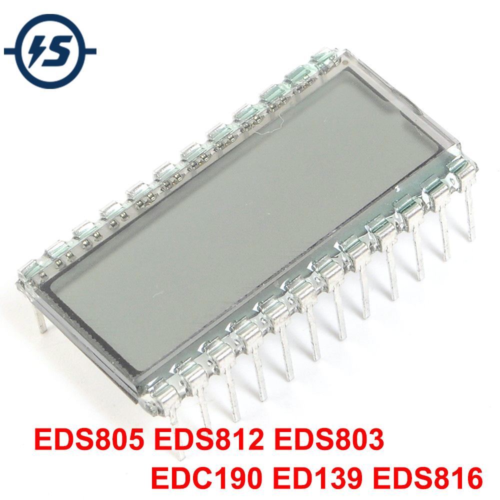 OLED LCD Display Module TN Type Digit Clock LCD Screen Glass EDS812 EDS803 ED139 EDC190 EDS816 EDS805 3/4/6 Bit